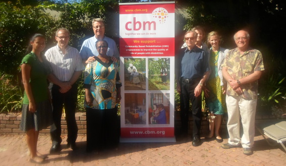 Dr William Rowland new Chairman of CBM South Africa